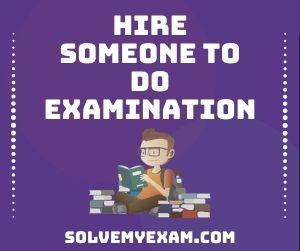 Hire Someone To Do Examination